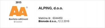 Boniteta odličnosti Alping